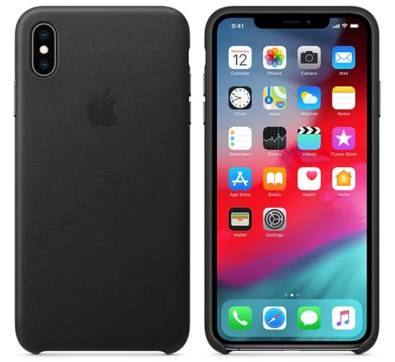 CRAZY DEAL!! Apple iPhone XS Max Genuine Official Leather Case Cover in Retail Box