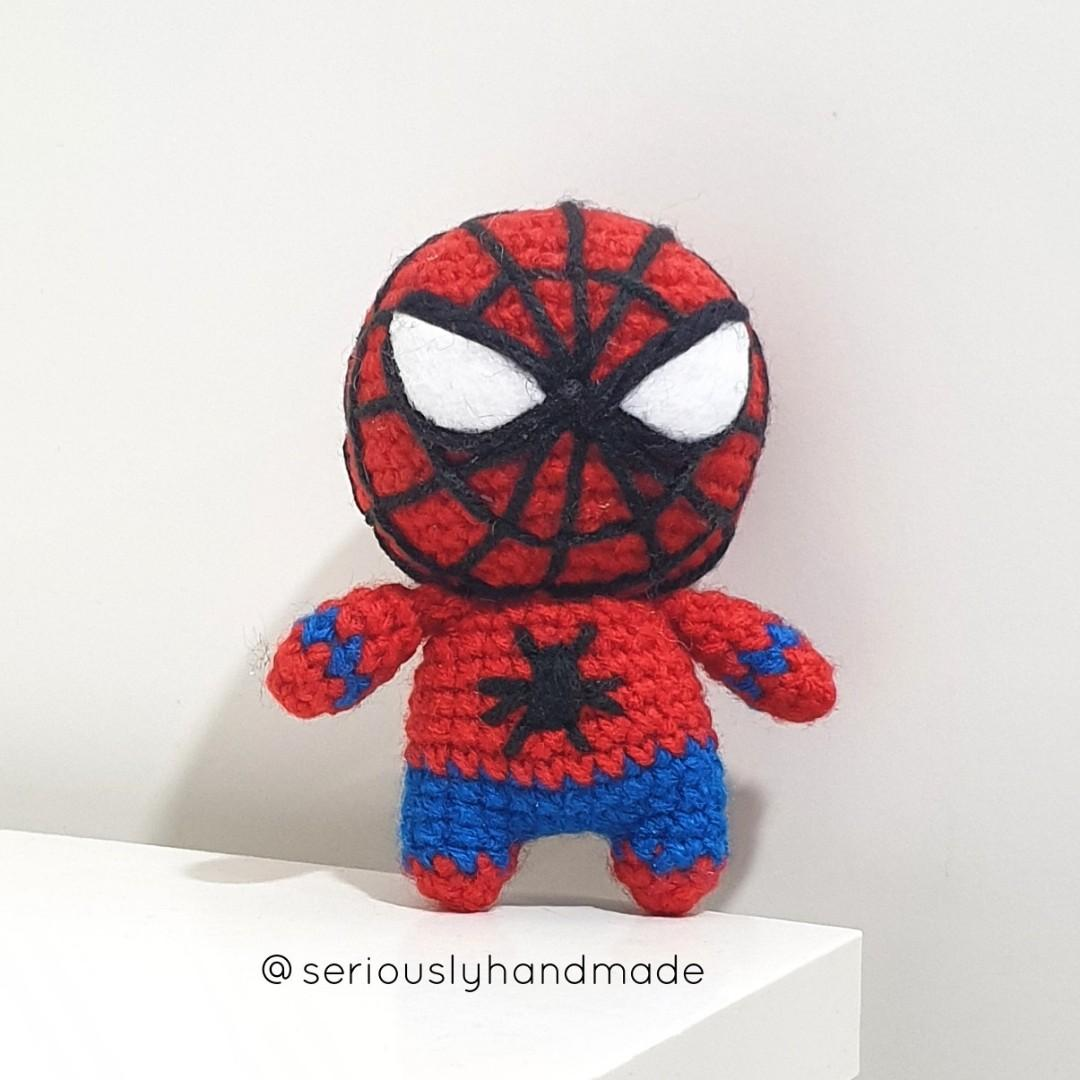 Amigurumi spiderman crochet pattern - Amigurumi Today - Amigurumi ... | 1080x1080