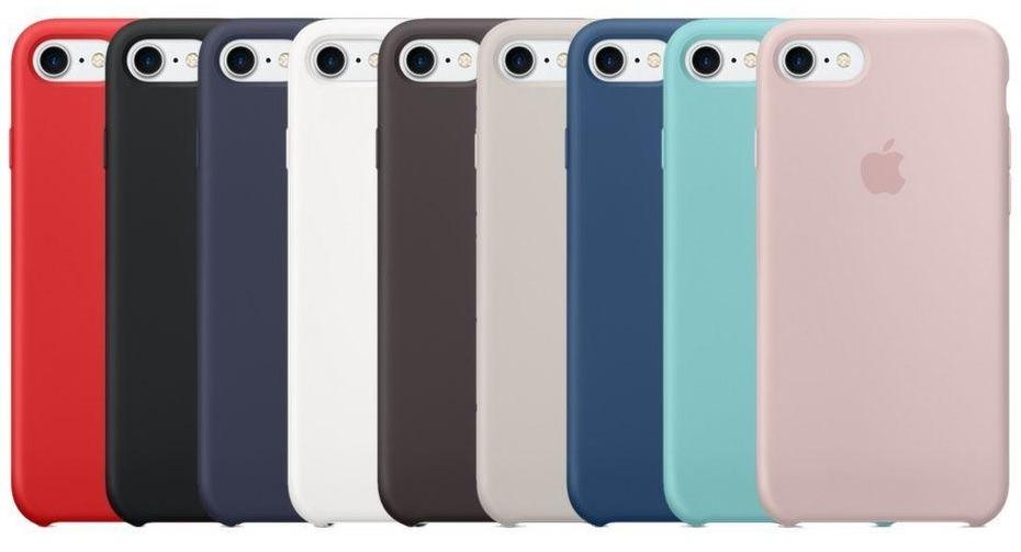 DON'T MISS!! Apple iPhone 7 and 8 Official Genuine Silicone Case in Retail Box