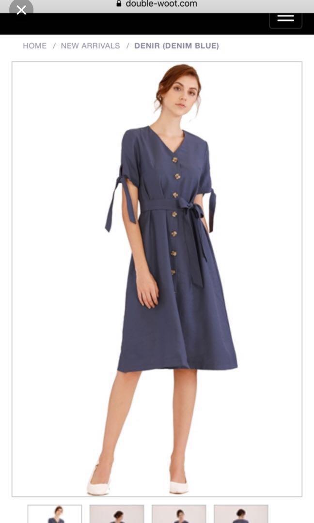 Doublewoot Denim Blue Dress