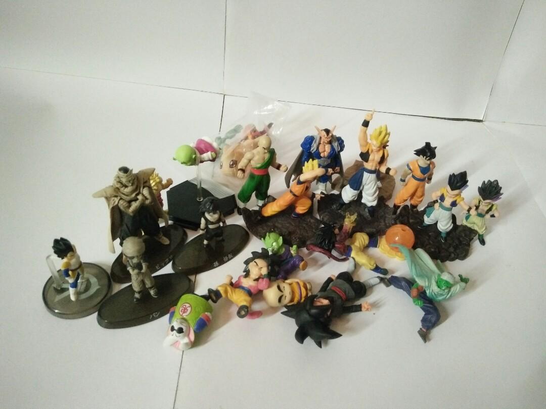 All Dragon Ball figures set original