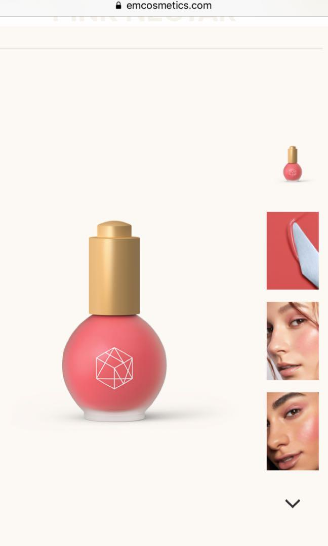 Em cosmetics color drops serum blush in Pink Nectar