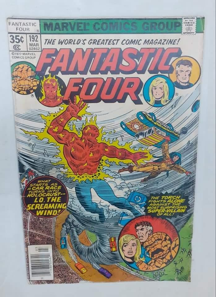 Fantastic Four ( 70's )  #192 ( George Perez - Cover Art ) Marvel Vintage