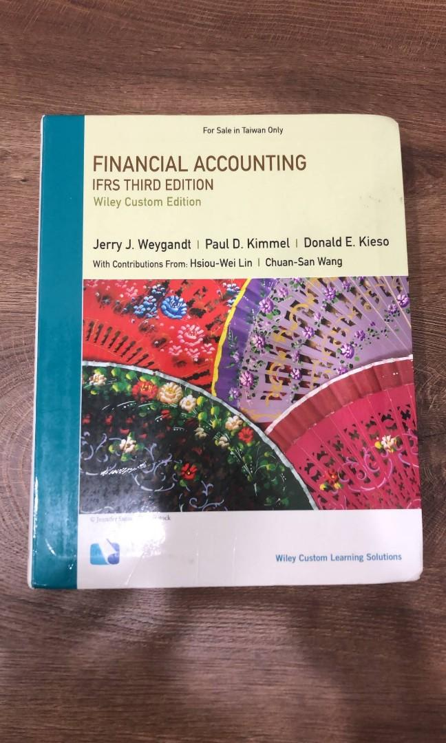 Financial accounting Firs 3e