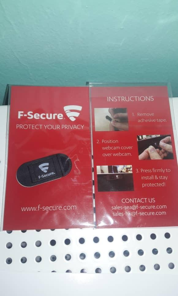 F-secure webcam protector