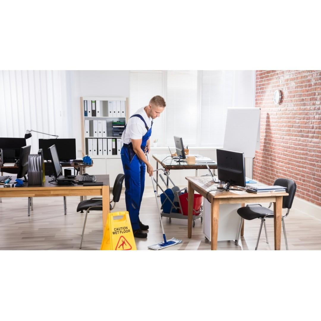 Hiring Part Time Office Cleaners at Lavender