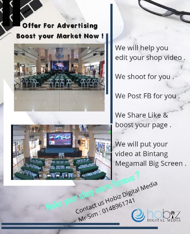 Hobiz Digital Media Advertising