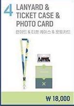 [INCOMING STOCK] X1 Showcon Merch Lanyard, Ticket Case, Pc & Badge Set