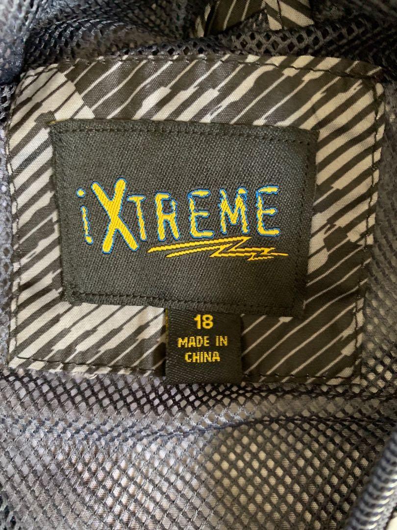 iXtreme big boy's camo windbreaker