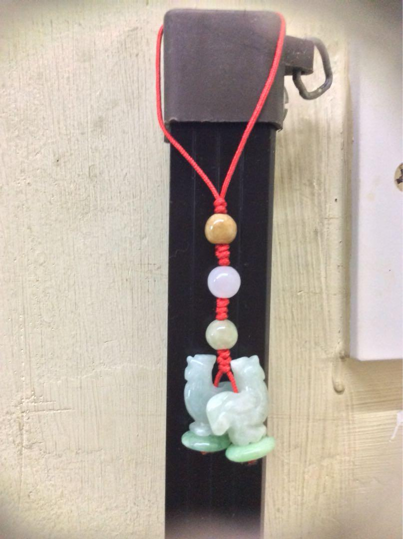 Jade Key Chain/ Decoration