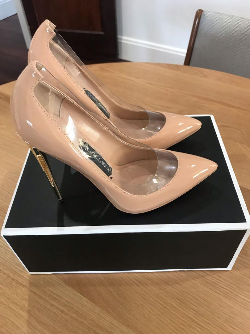 Jessica rich posh pump nude