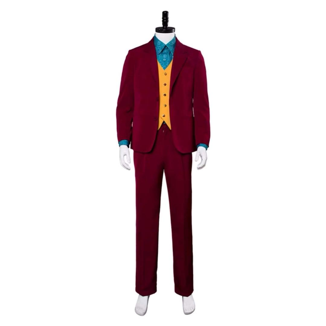 🃏JOKER COSPLAY COSTUME SUIT ATTIRE DC COMICS MOVIE🃏