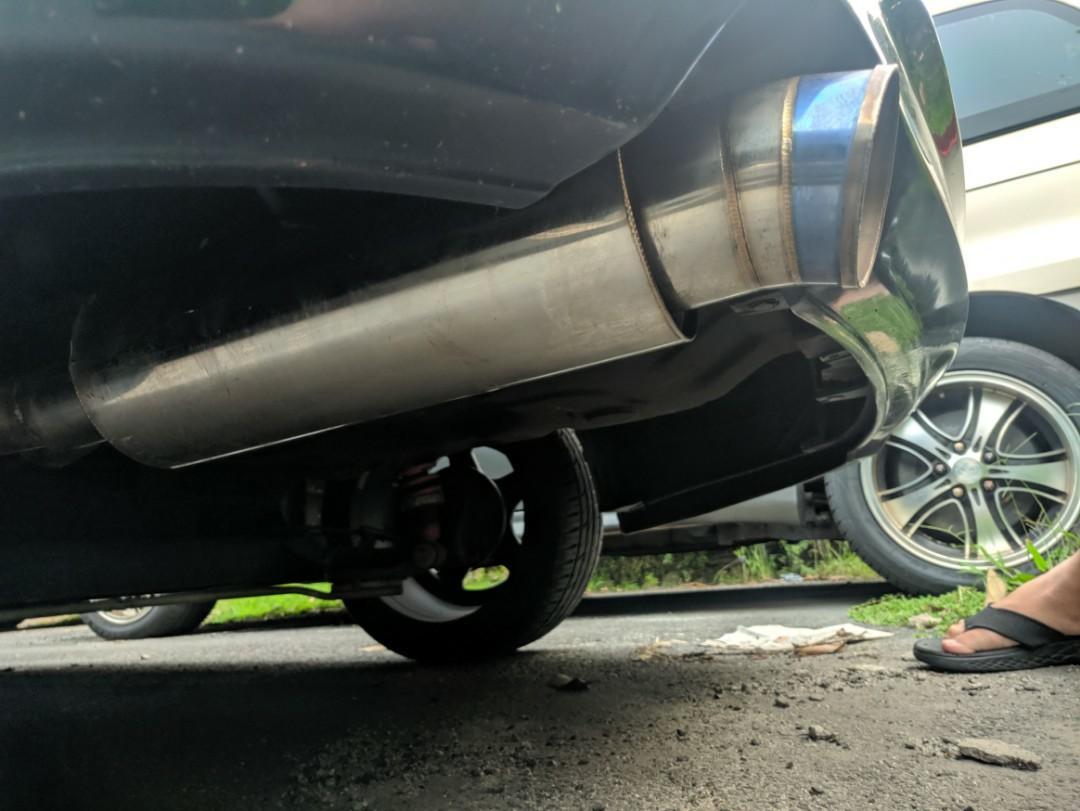 Js Racing Straight Flow Exhaust