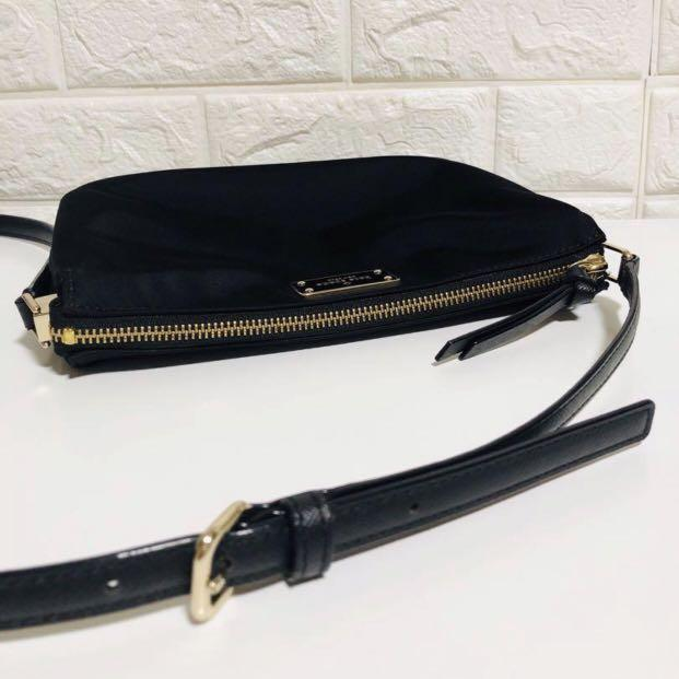 Kate Spade Sling Bag madelyn wilson road nylon black