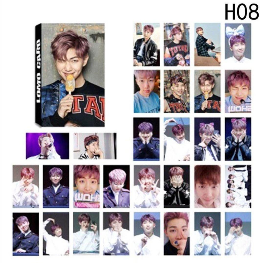 KPOP BTS Photocards YOU NEVER WALK ALONE 30pcs/set