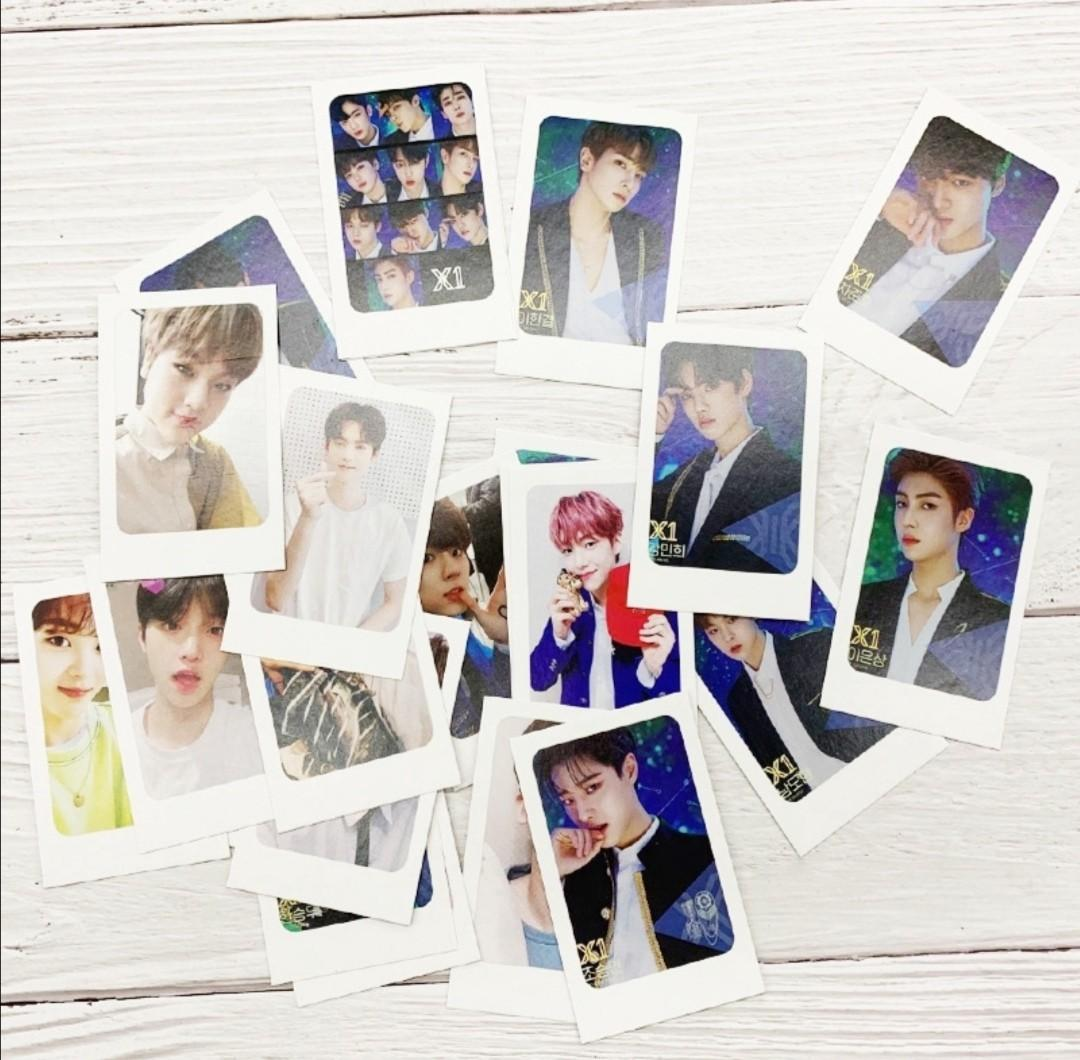 KPOP X1 Produce 101 x ONE LOMO Card Photocards 23pcs/set