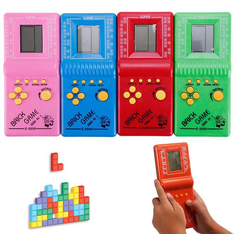 LCD Game Classic Vintage Tetris Brick Handheld Arcade Pocket Toys #winiphone11pro
