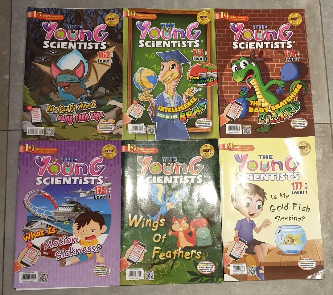Level 1 - Young Scientis and Science Adventure