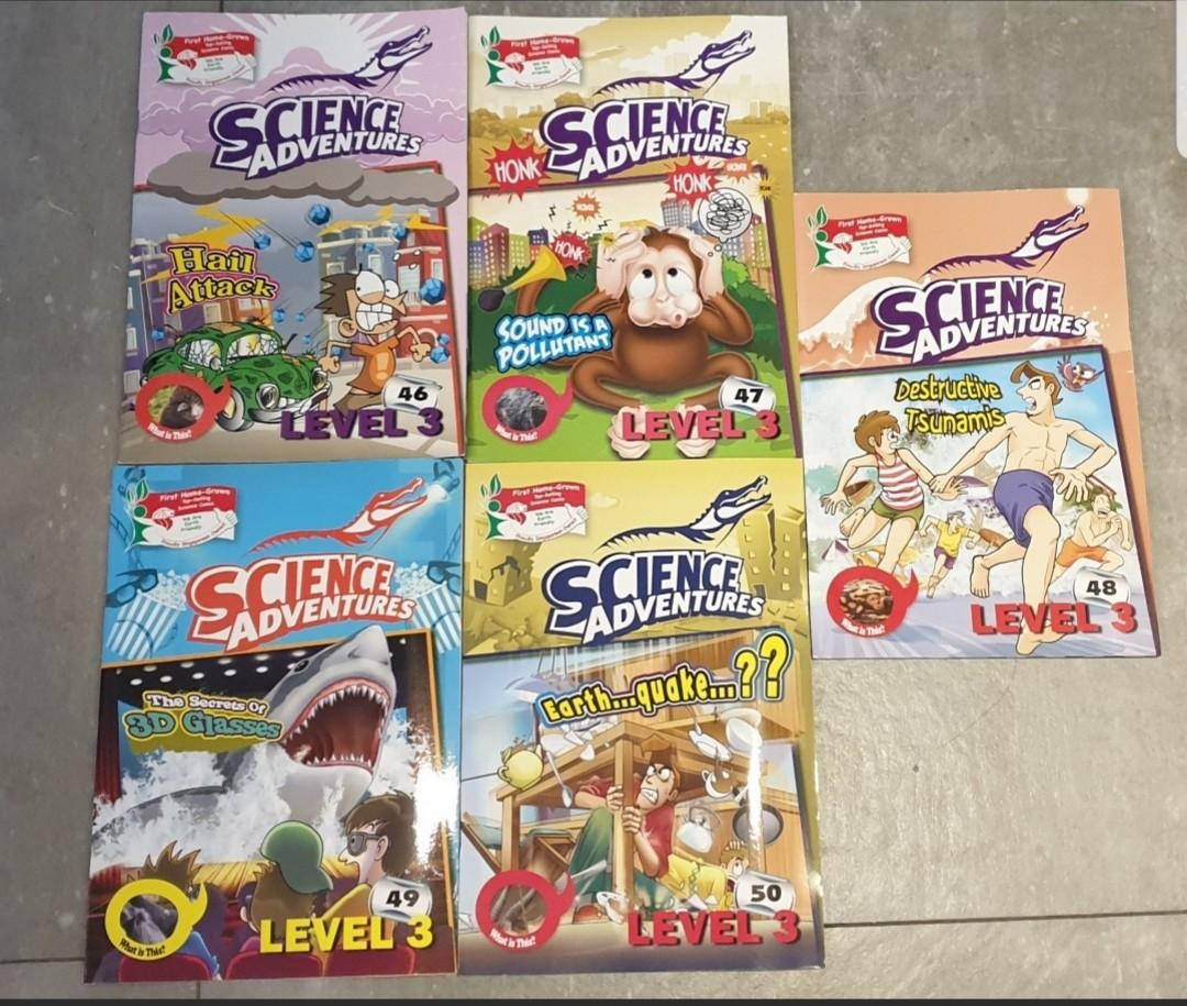 Level 3 - Young Scientis and Science Adventures