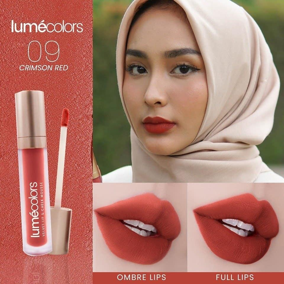 Lipcoat Crimson Red Lumecolors