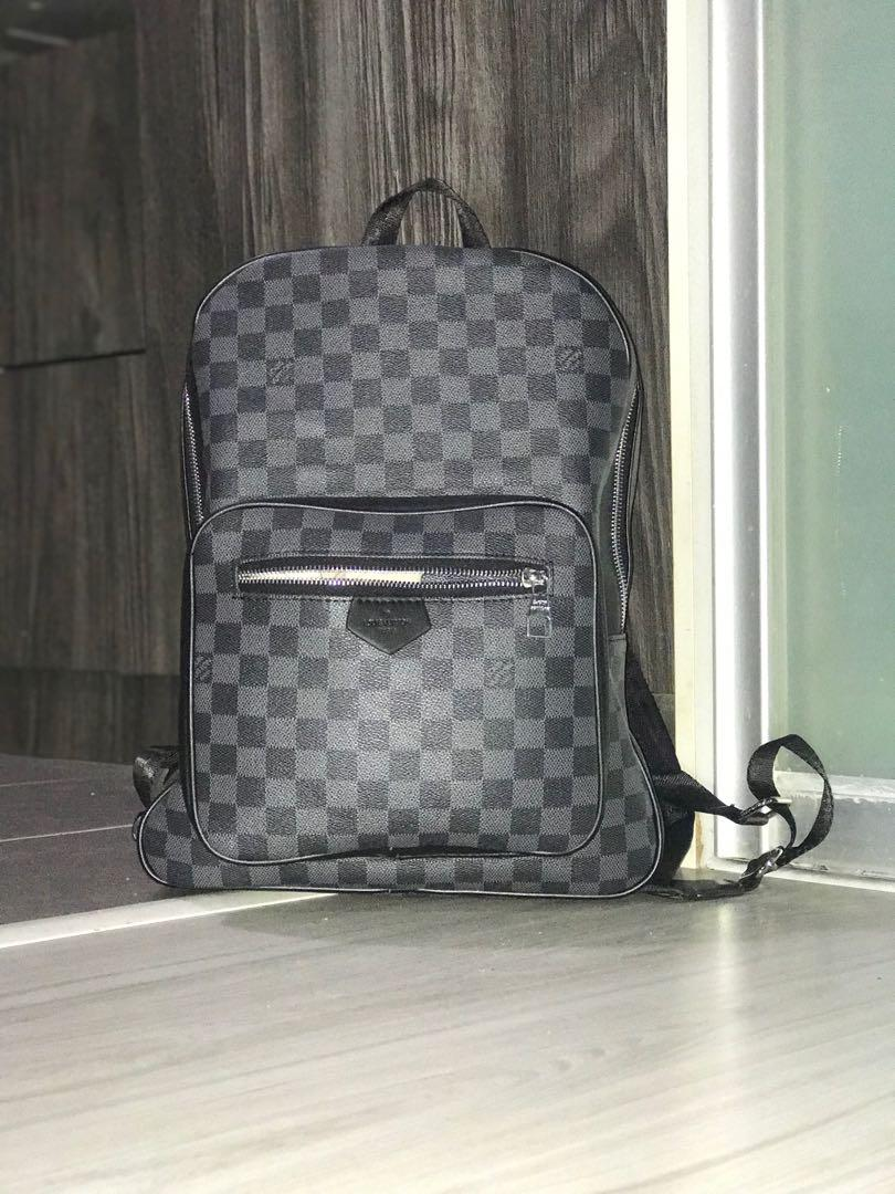 Louis Vuitton Josh Backpack Damier Graphite Canvas