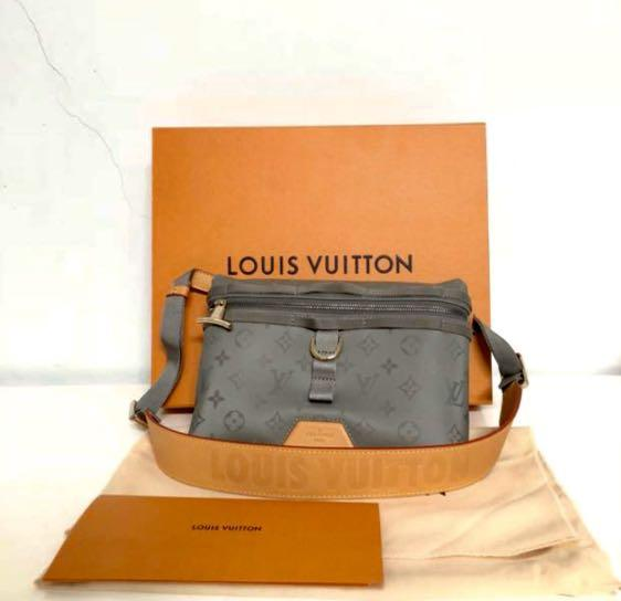 Louis Vuitton KIM JONES Titanium Collection Messenger PM Monogram M43889