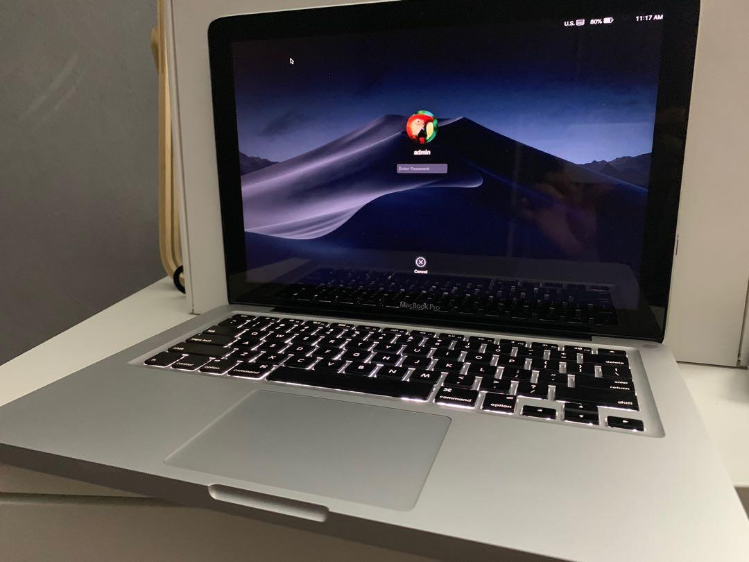 Macbook Pro 13.3 Inch 2012