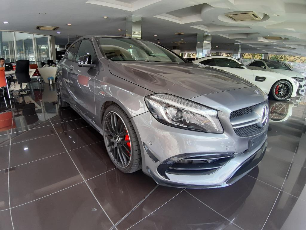 Mercedes Benz #AMG A45 2.0 Turbo