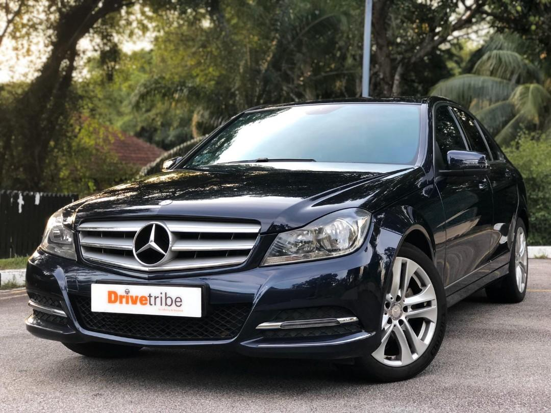 Mercedes-Benz C180 Kompressor BlueEfficiency (A)