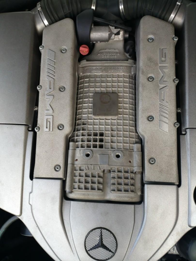 MERCEDES-BENZ SL55 2004