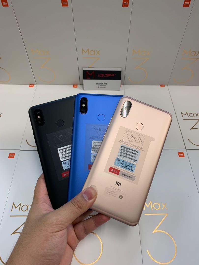 Mi Max 3 (64GB/128GB)