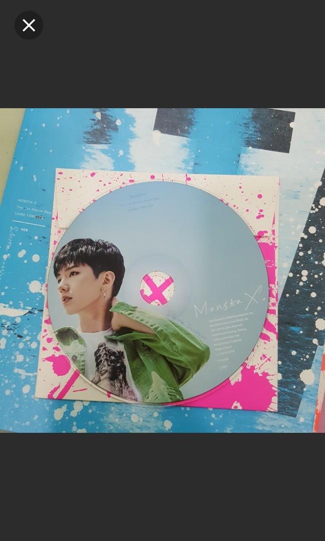 Monsta X Shine Forever (Repackage Album) (Shine ver)