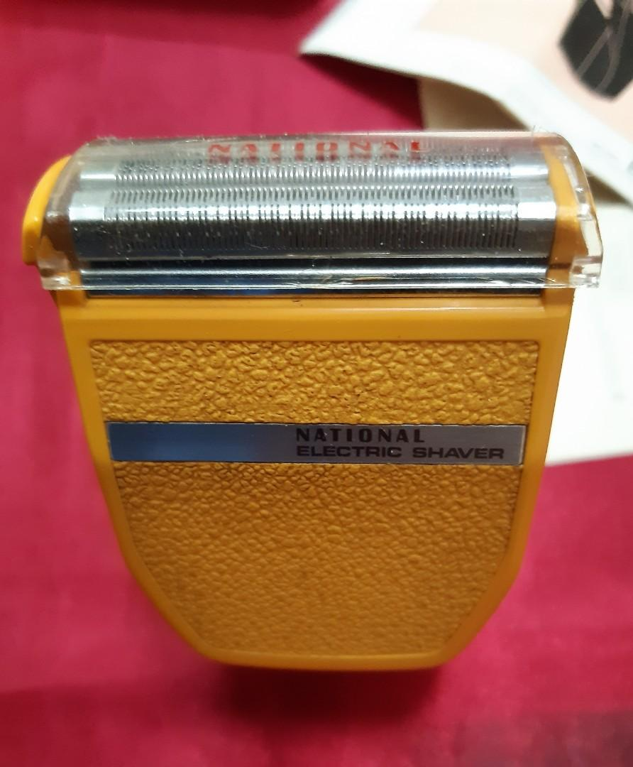 NATIONAL 1974 Electric Shaver