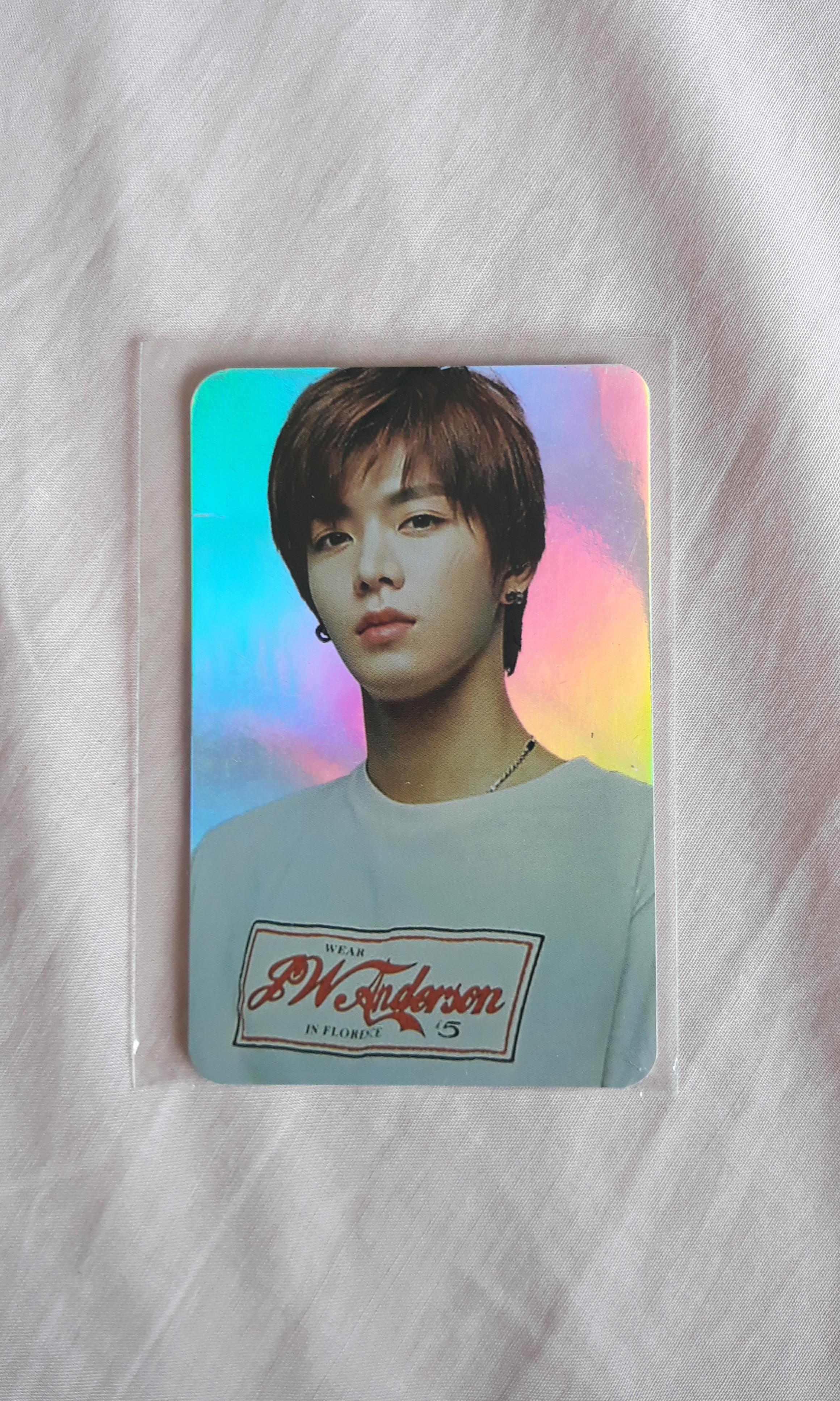 nct yuta 2018 holo official pc photocard