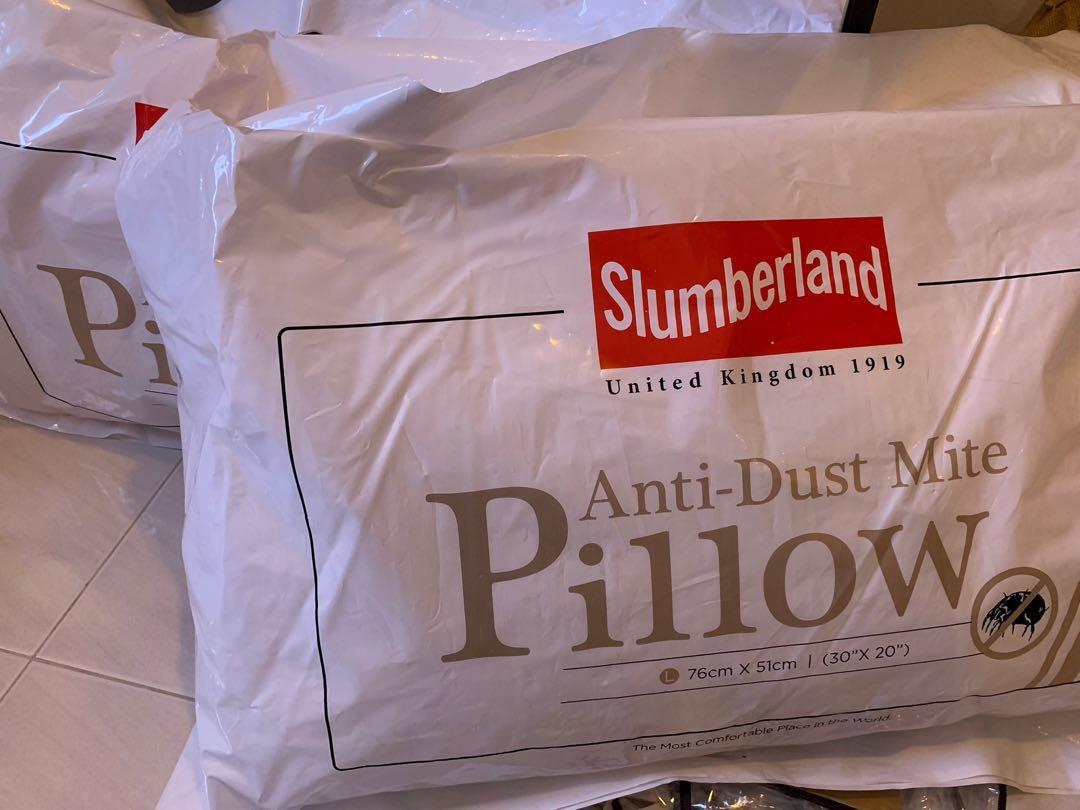 NEW Slumberland Anti-dust Mite Pillow