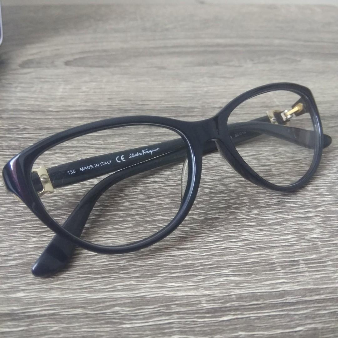 ORIGINAL 100% Salvatore Ferragamo glasses kacamata minus wanita eye cat