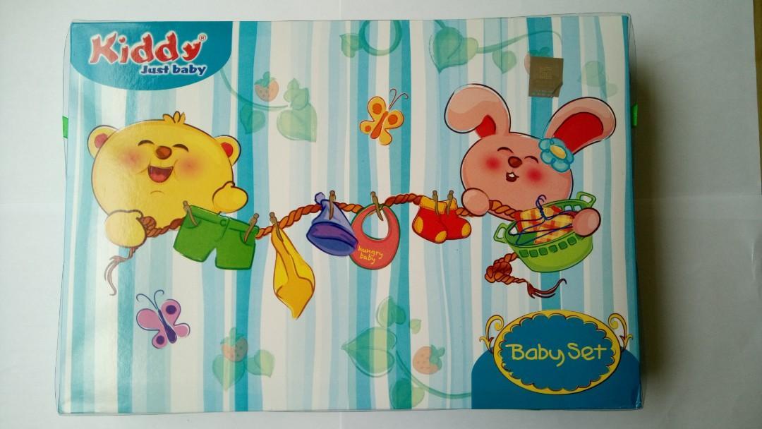 Paket Handuk Baby Set - Kiddy Just Baby - Bingkisan Kado Lahiran Bayi Handuk Set