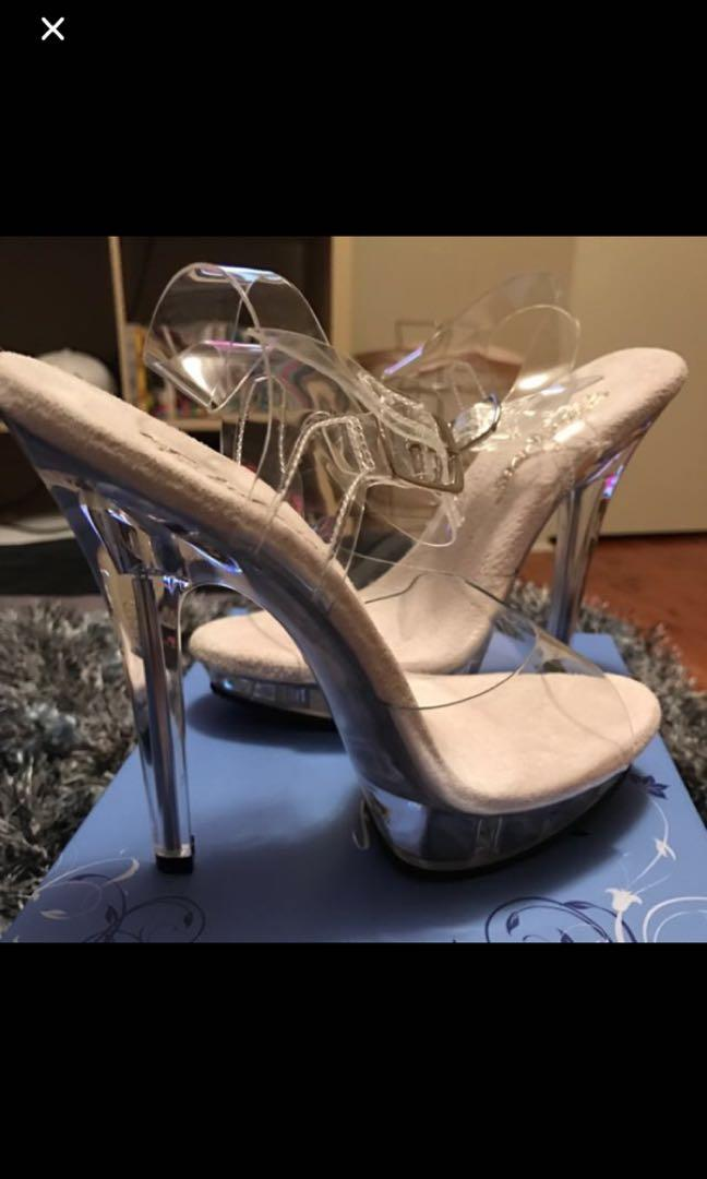 Pleaser/ competition  pole dancing heels