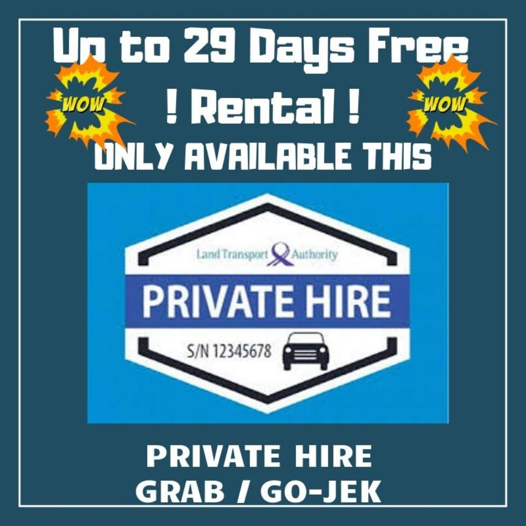 Private Hire Car Rental