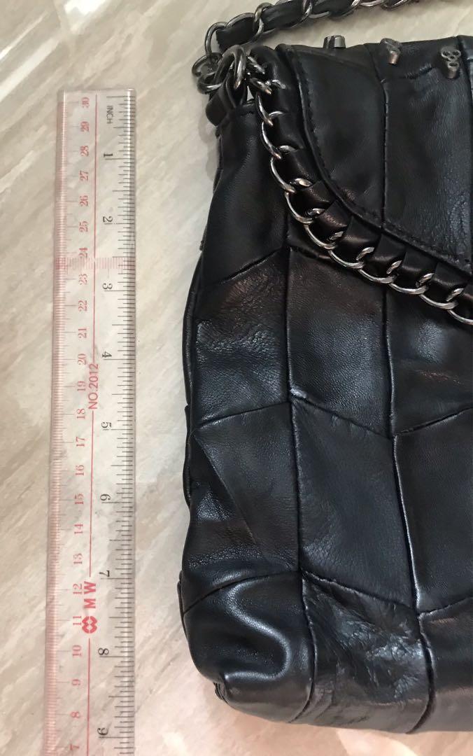真羊皮手袋Real leather bag
