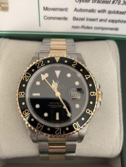 Rolex GMT-Master II 18K Yellow Gold and Stainless Steel Automatic *Great Condition* with tags