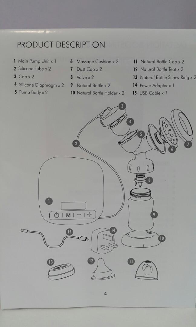 Second hand breast pump + 3 free gifts
