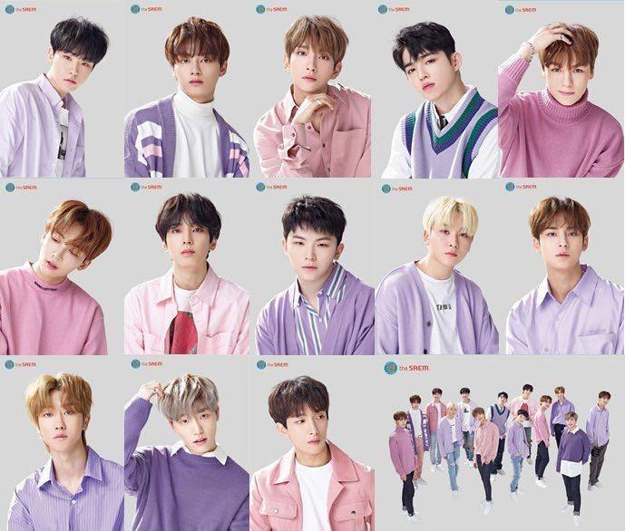SEVENTEEN THE SAEM OFFICIAL PRODUCTS