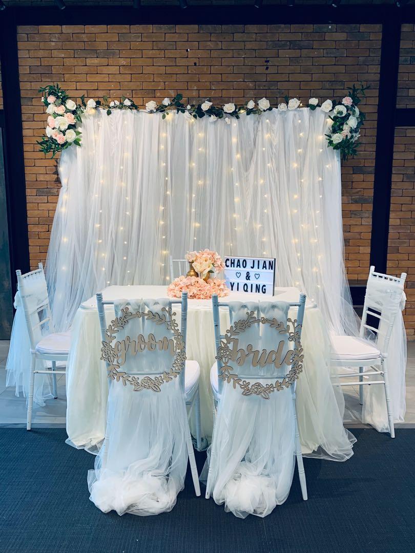 Solemnization decoration / wedding day decoration / floral arch