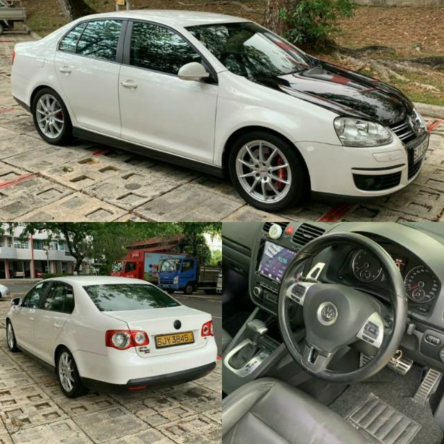 Sporty Vw Jetta 1.4 for lease