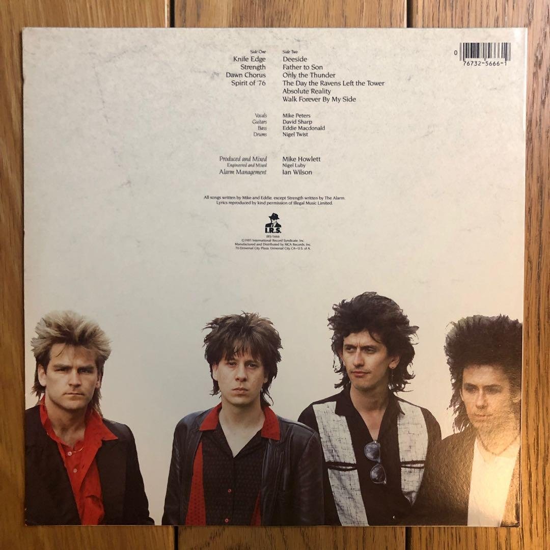 C081_The Alarm-Strength (LP)