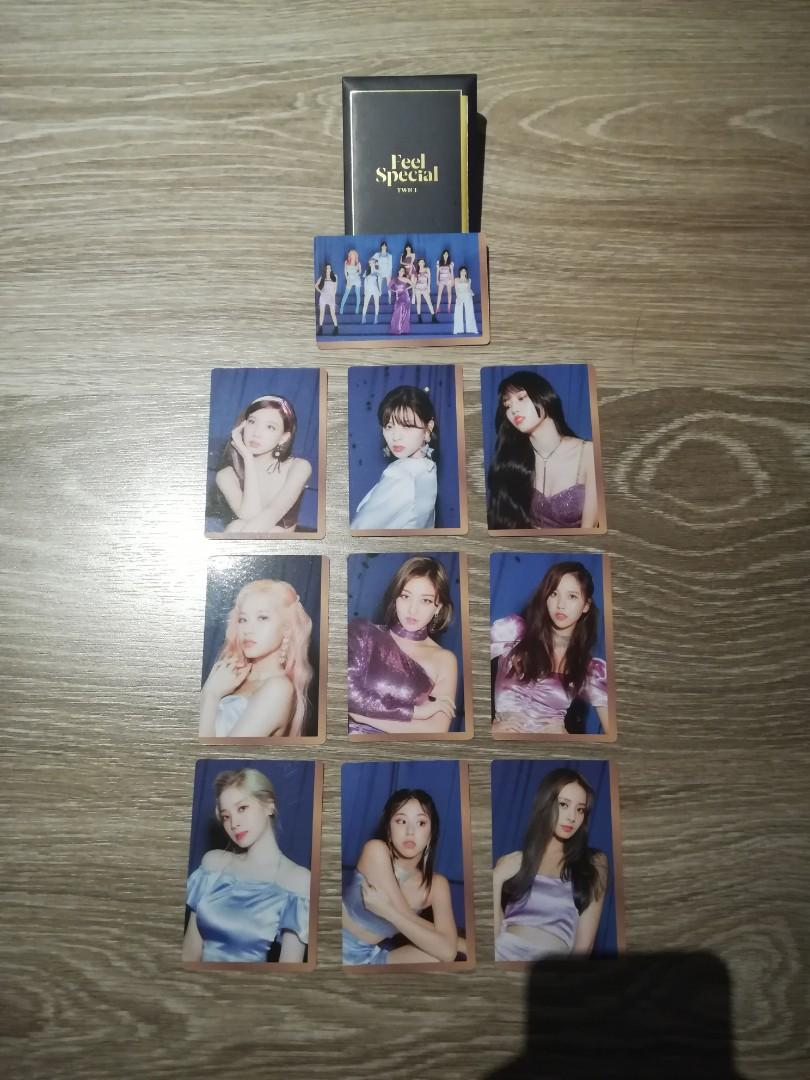Twice Feel Special PO benefits (photocards set and poster)