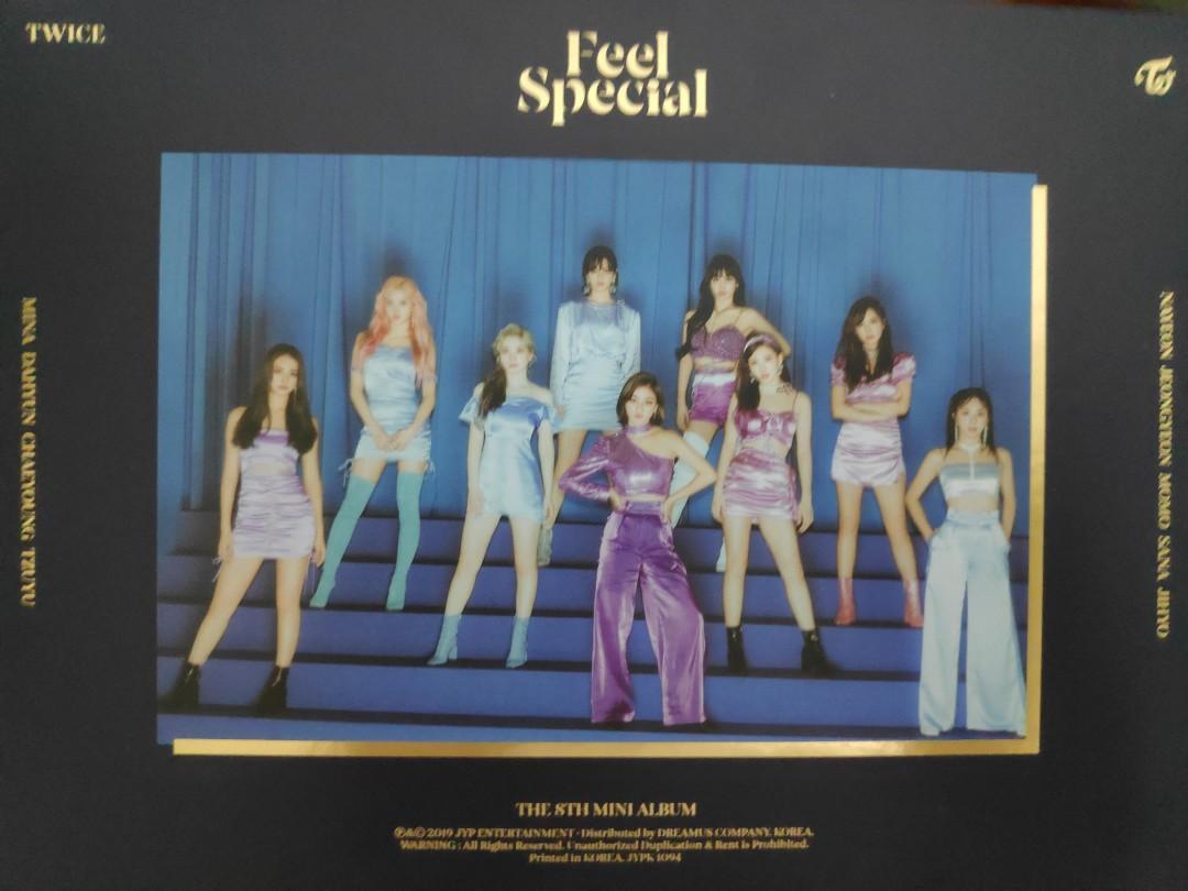 Twice Feel Special unseal album