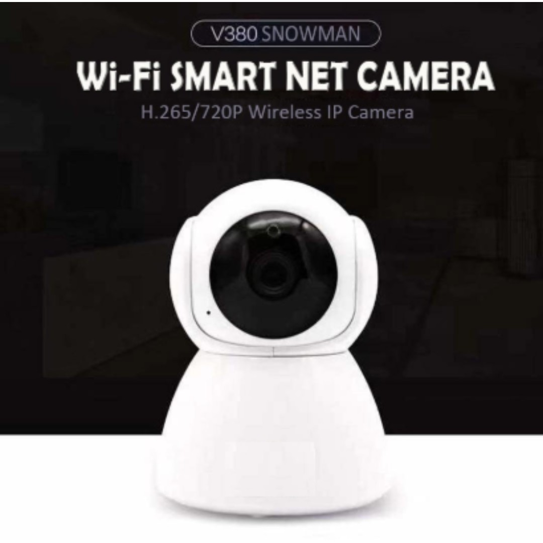 V380 Q8 Snowman Cctv Wireless Ip Camera Hd Wifi Network Cctv Camera Electronics Cctv Security Products On Carousell