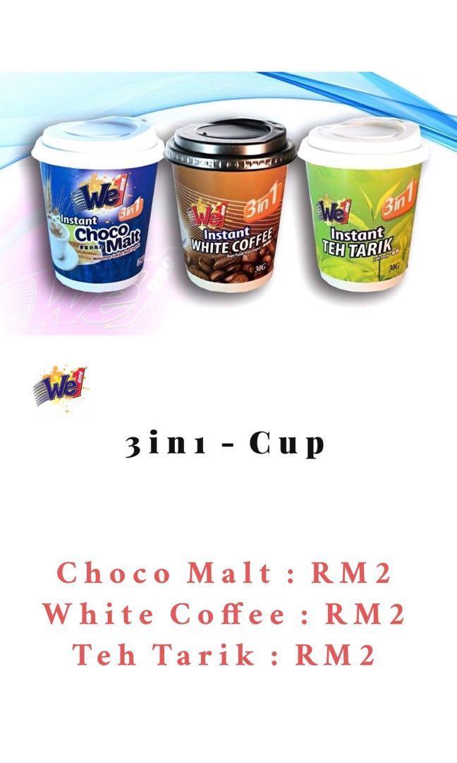 We1 Beverage - 3in1
